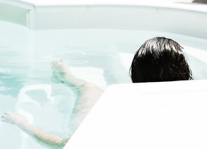 Das Glück des Basenbadens