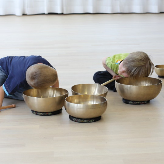 Klangpädagogik für Kiga und Volksschule