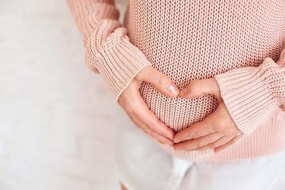 new life birth concept happy woman pregn