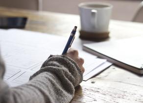 Durch Schreiben das Gedankenkarussell stoppen