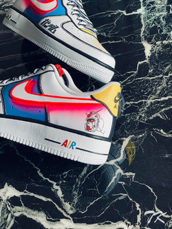 "Nike Air Force 1 ""GUNDAM"""