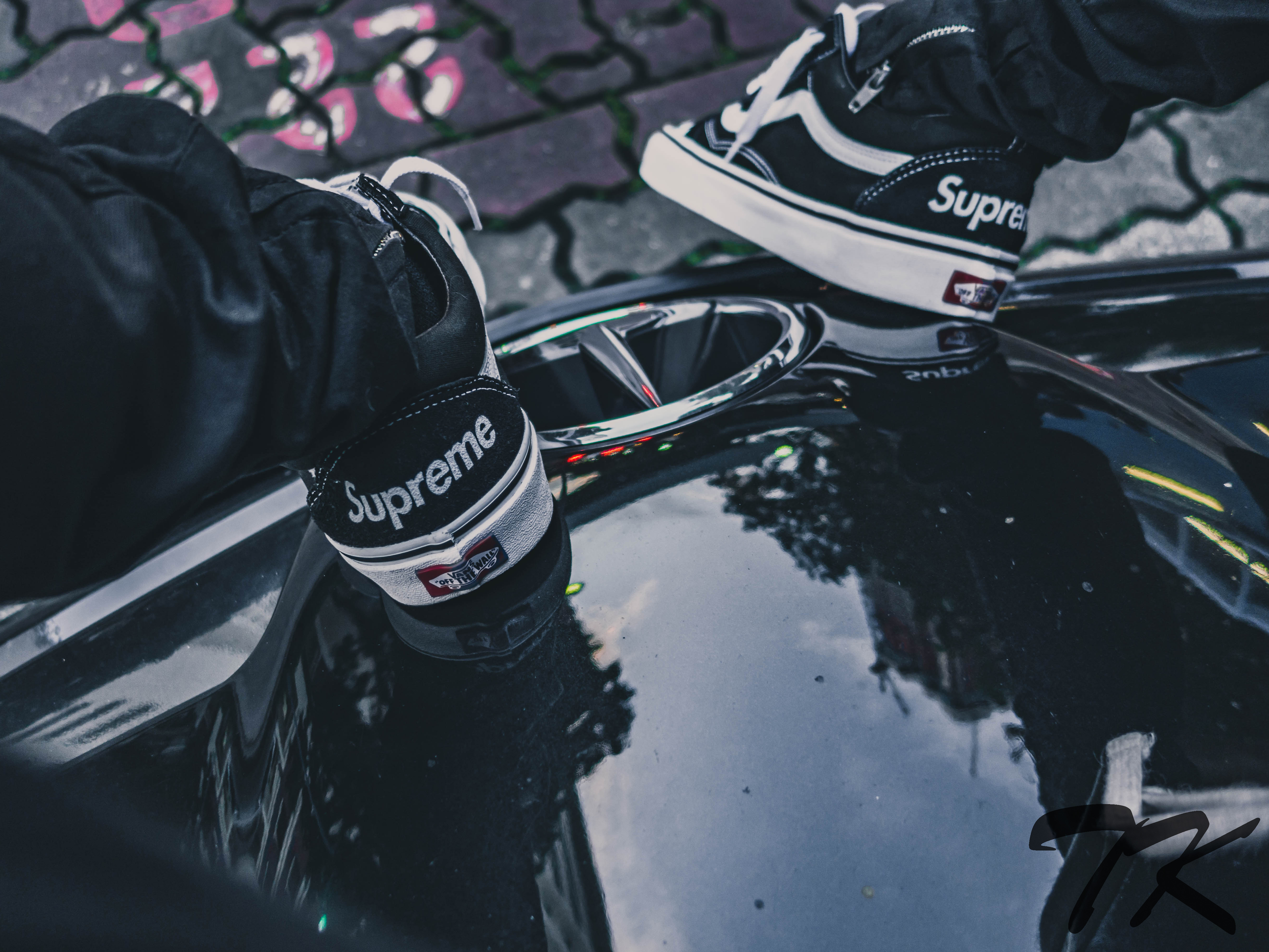"VANS Old Skool ""SUPREME"""
