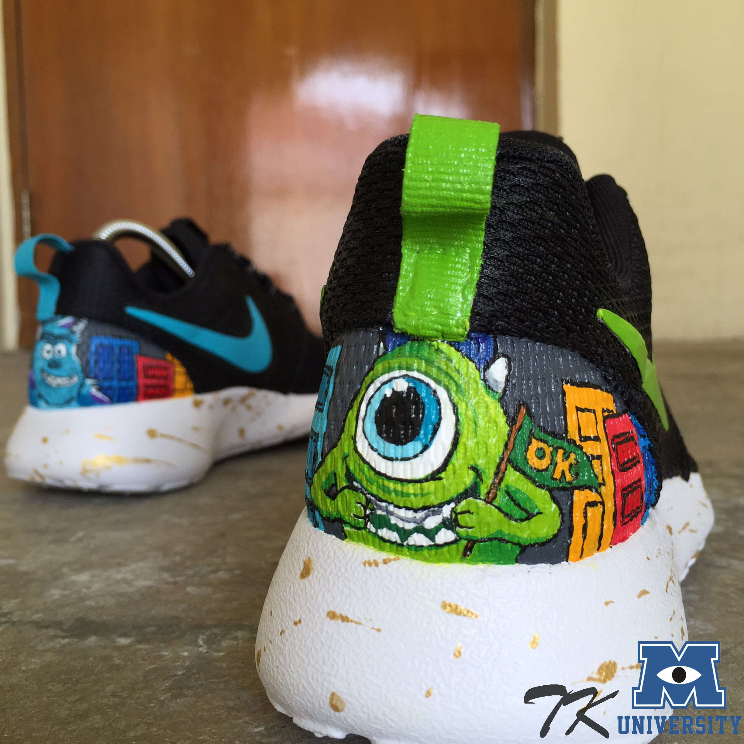"Nike Roshe One ""MONSTERS UNIVERSITY"""