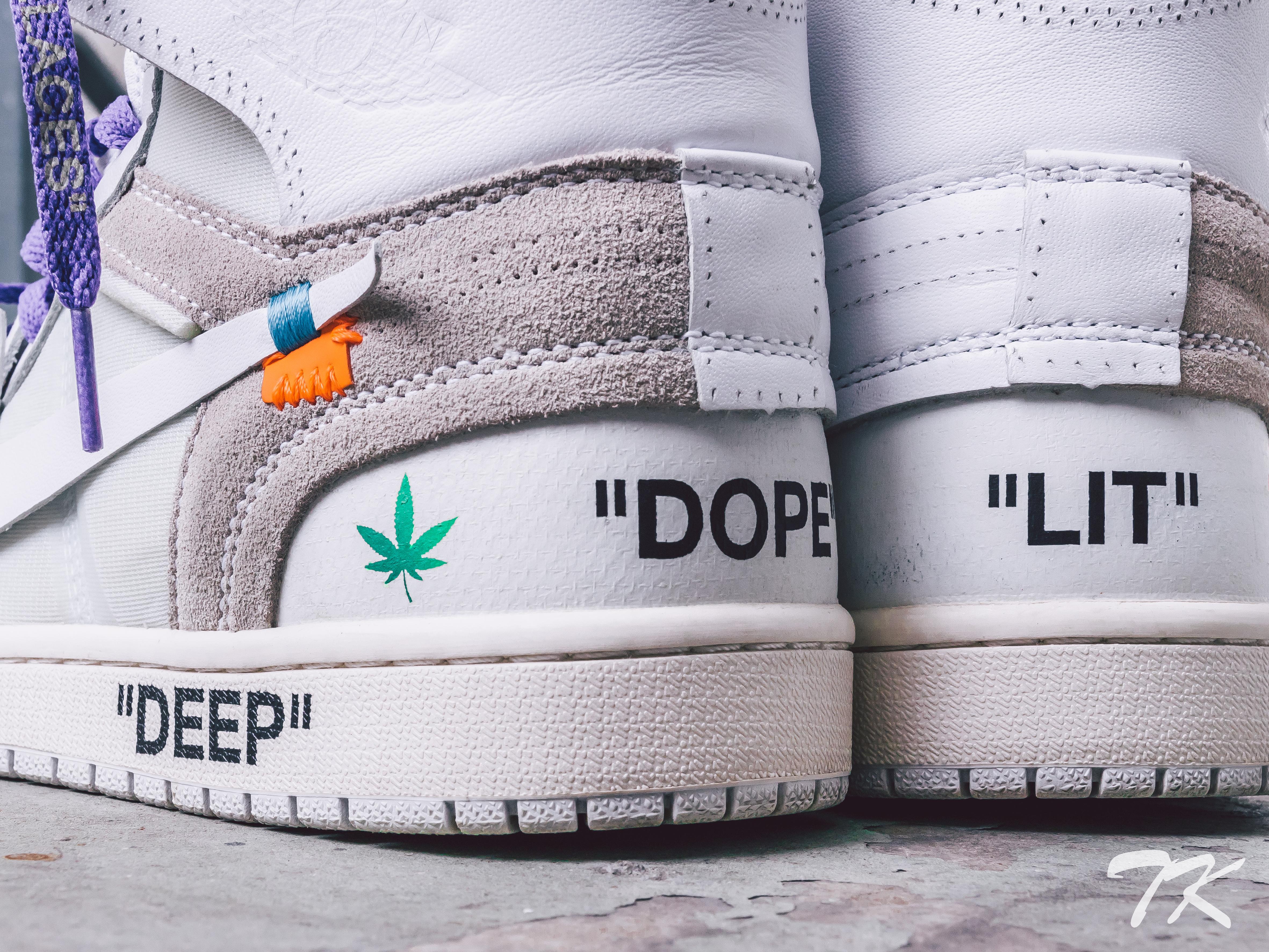 """Nike Air Jordan 1 """"DOPE & LIT"""""""