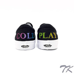 "Vans Classic Slip-On ""COLDPLAY"""