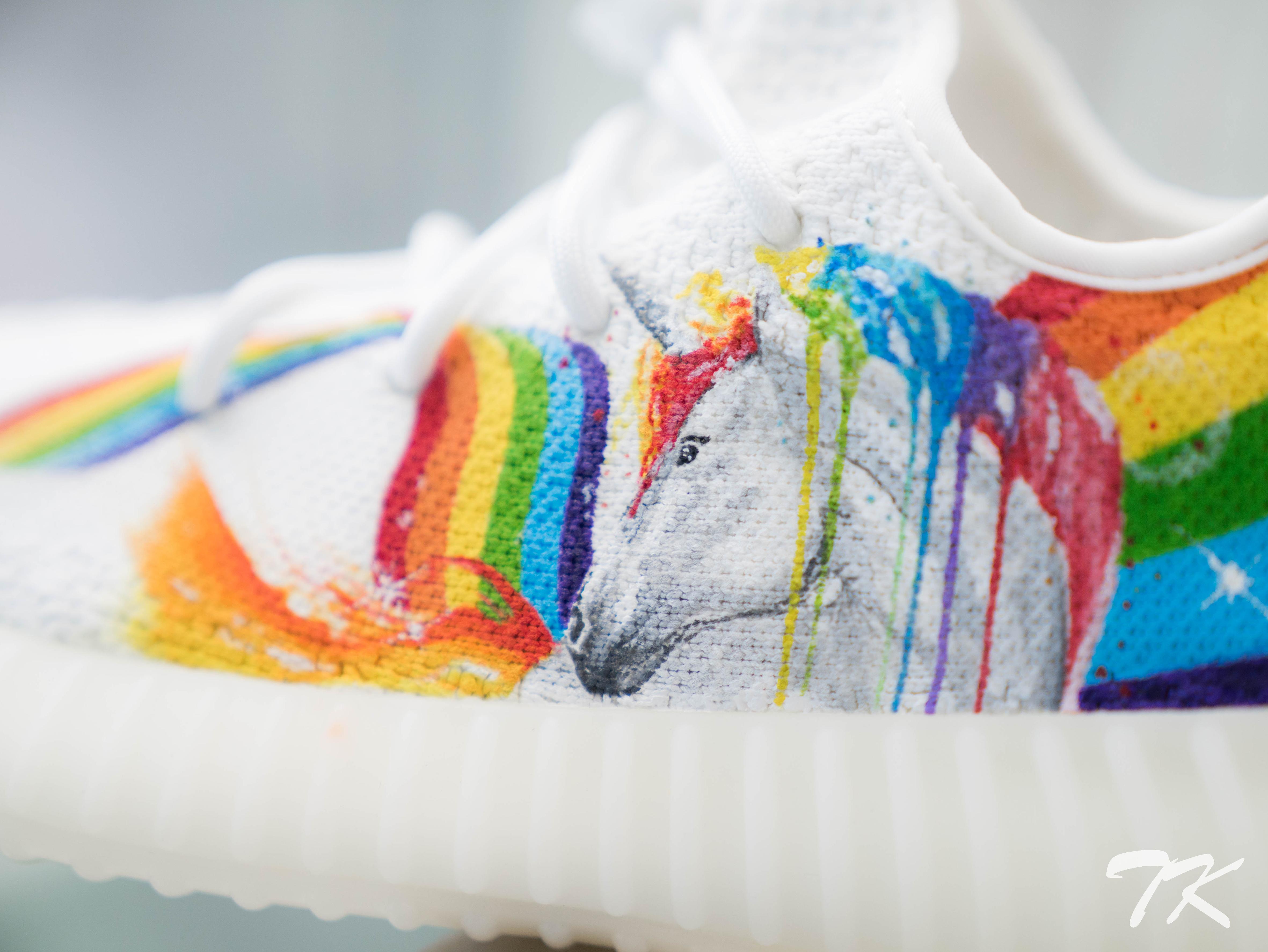 """Adidas Yeezy 350 V2 """"UNICORN"""""""