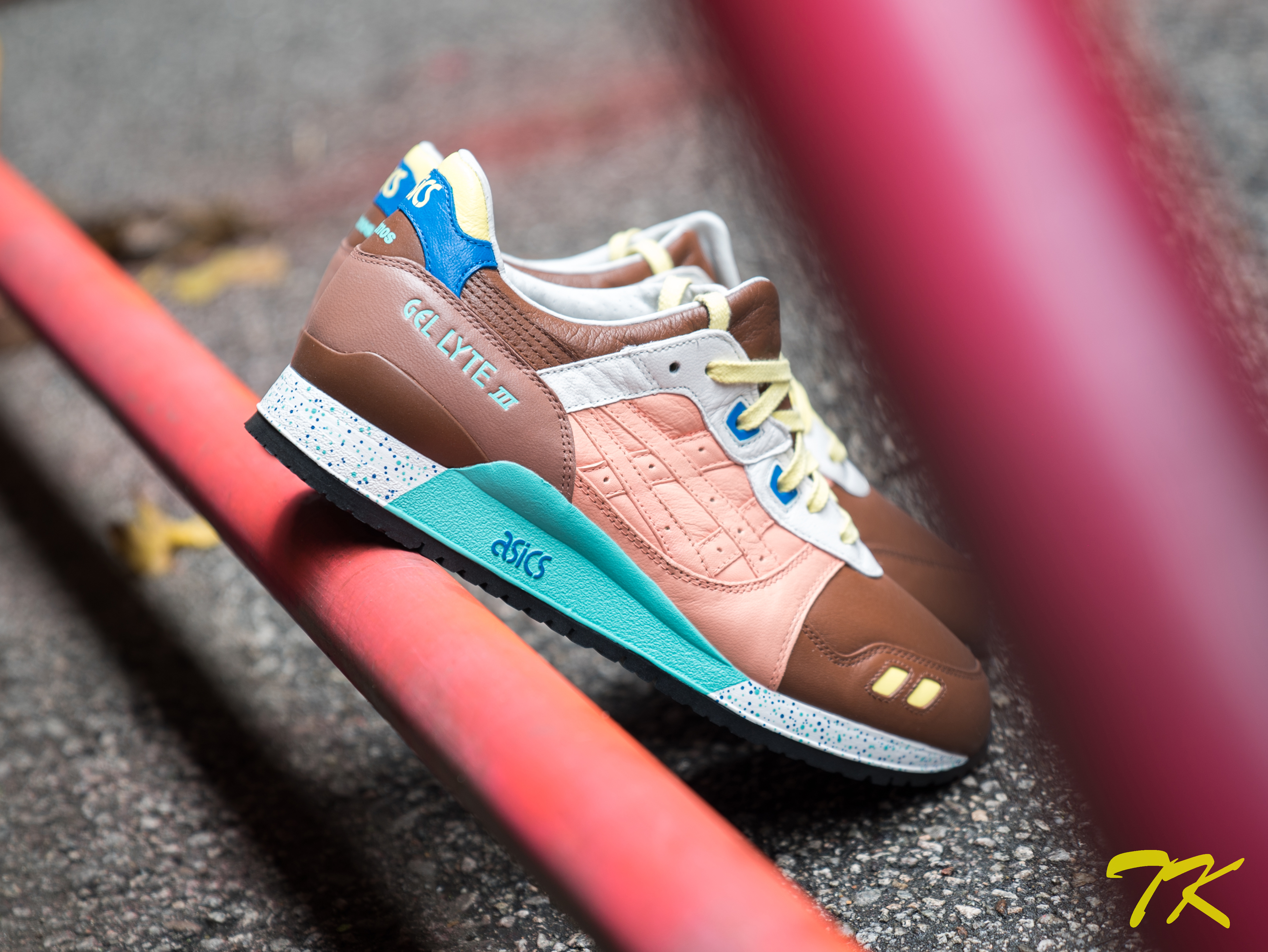"Asics Gel Lyte ""GEM ROSE BISCUIT"""