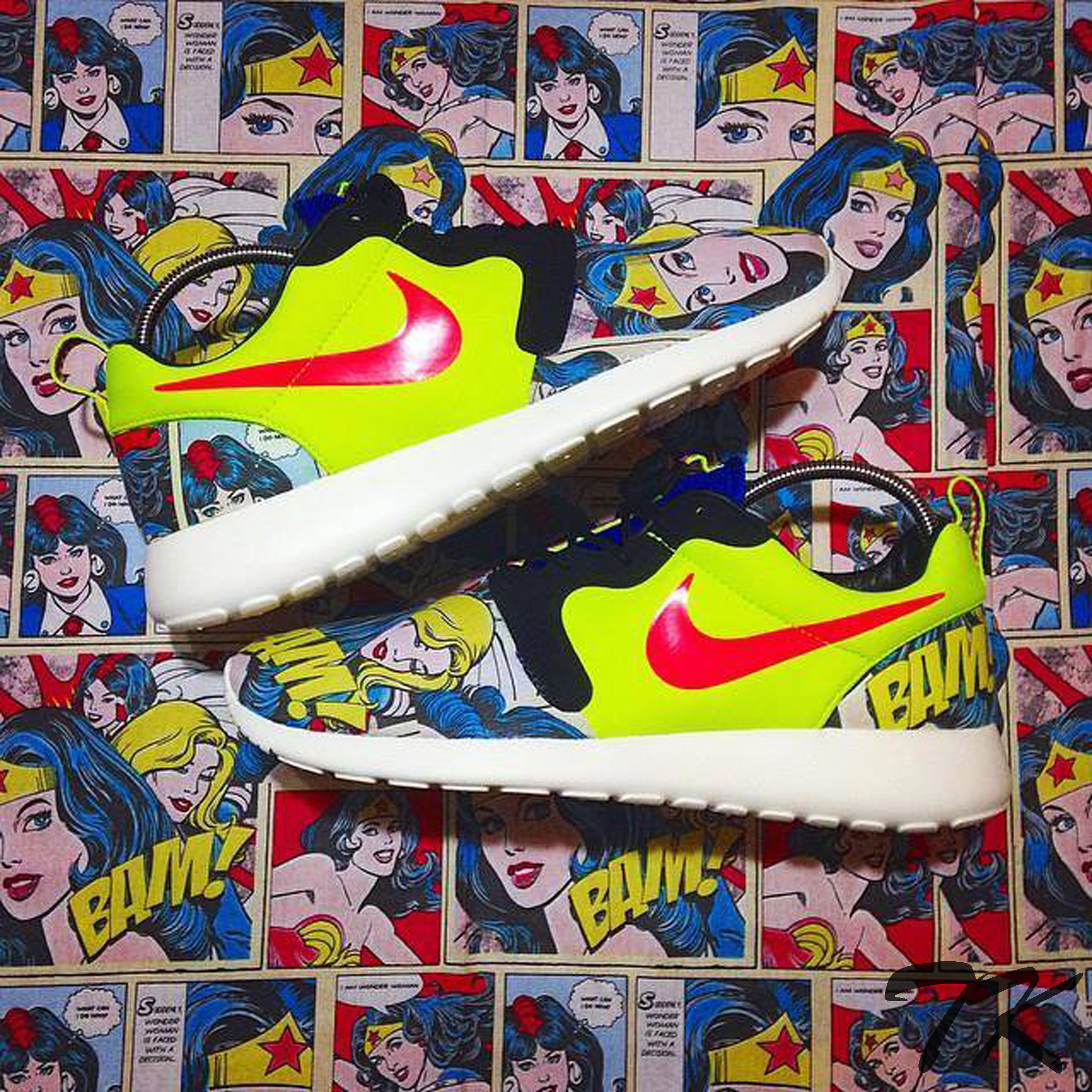 "Nike Roshe One ""WONDERWOMAN"""