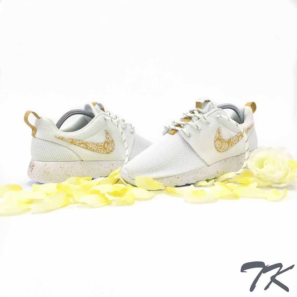 "Nike Roshe One ""GOLD WEDDING"""