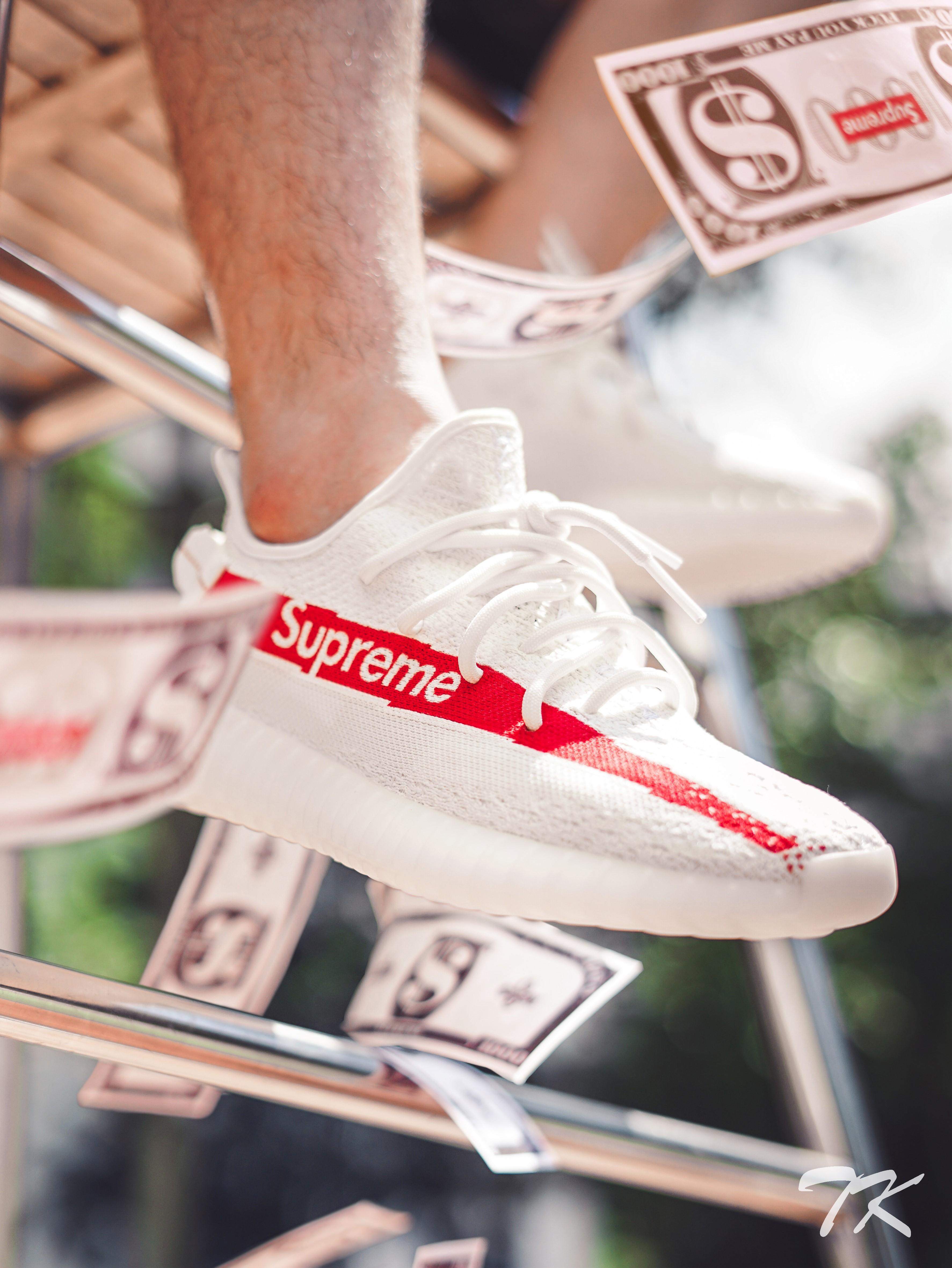 """Adidas Yeezy 350 """"SUPREME"""""""