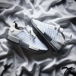 "Adidas NMD Three Sripes ""SILVER"""