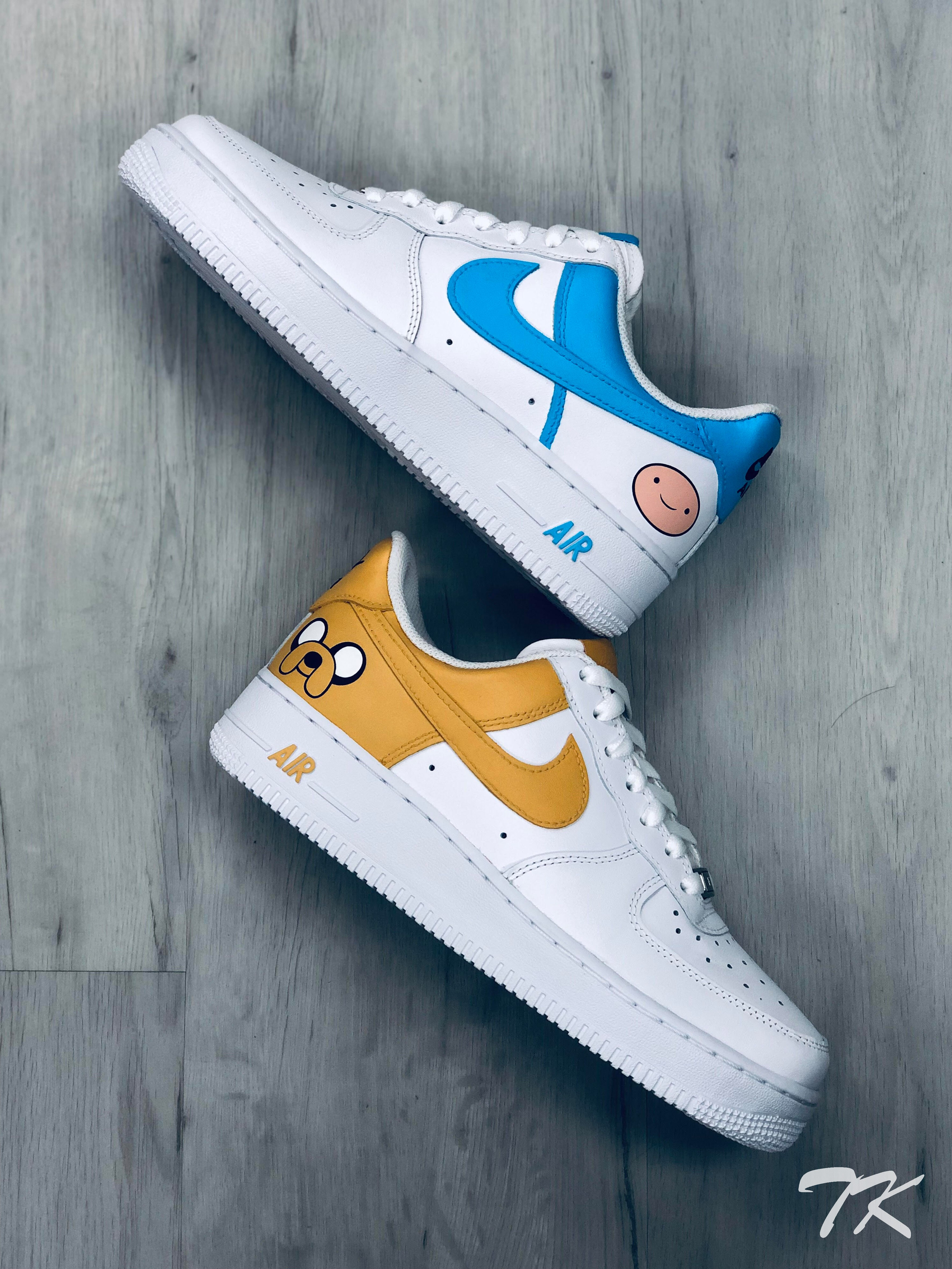 "Nike Air Force 1 ""ADVENTURE TIME"""