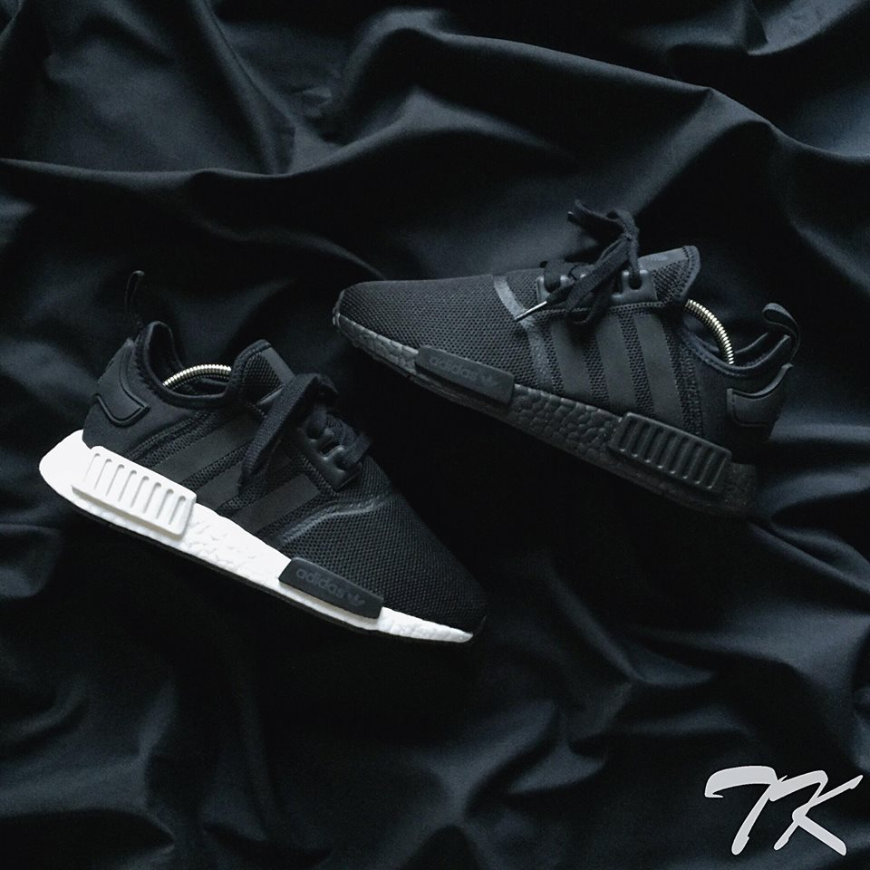 "Adidas NMD_R1 ""BLACKOUT"""