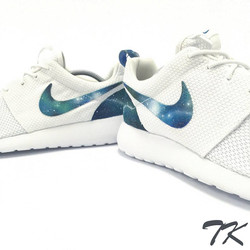 "Nike Roshe One ""GREEN GALAXY"""