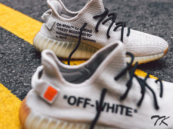 "Adidas Yeezy 350 ""OFF WHITE"""