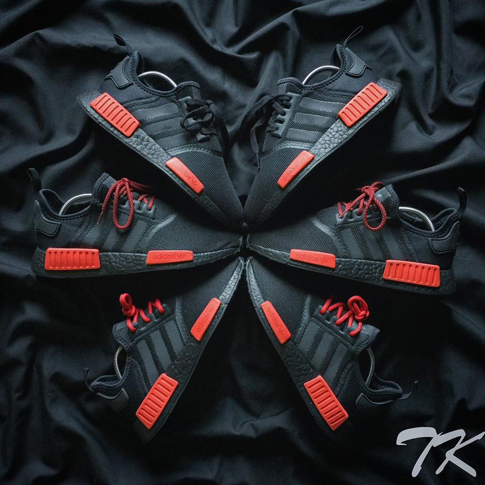 "Adidas NMD Bred ""BLACKOUT"""