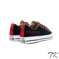 "Converse Low ""UCHIHA"""