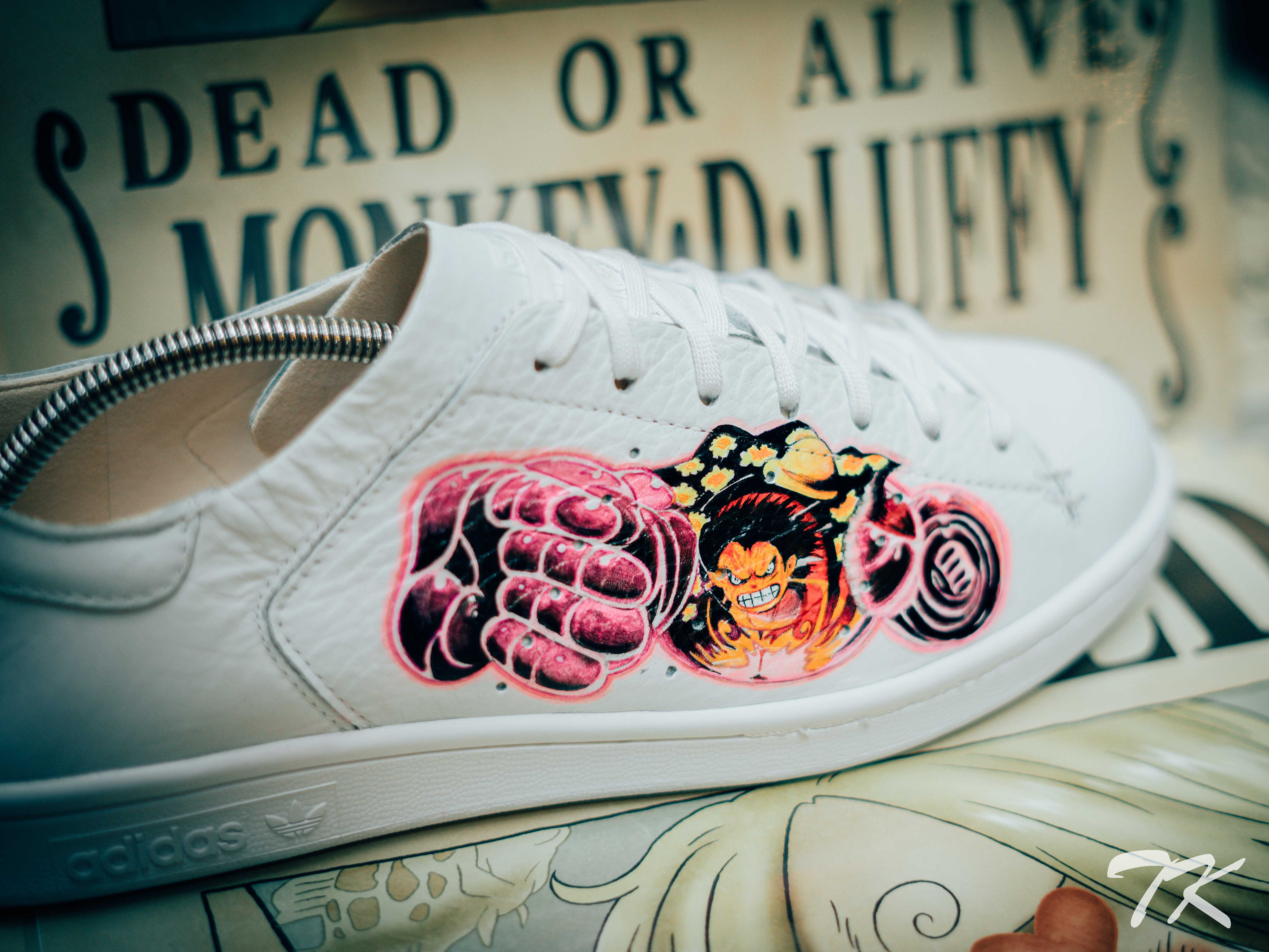 "Adidas Stan Smith ""LUFFY"""