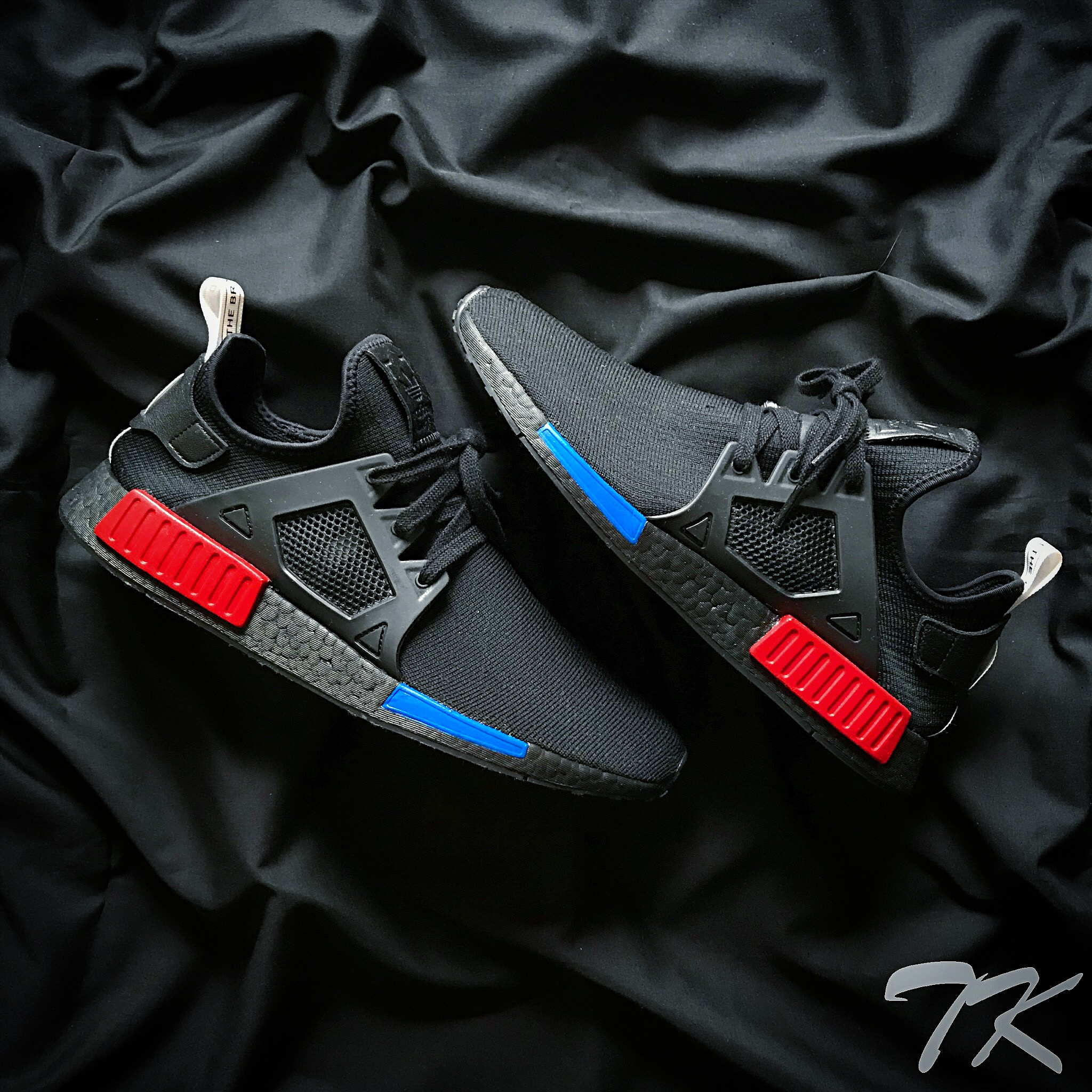 "Adidas NMD XR1 OG ""BLACKOUT"""