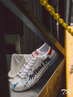 "Adidas Stan Smith ""I'M CRAZY"""