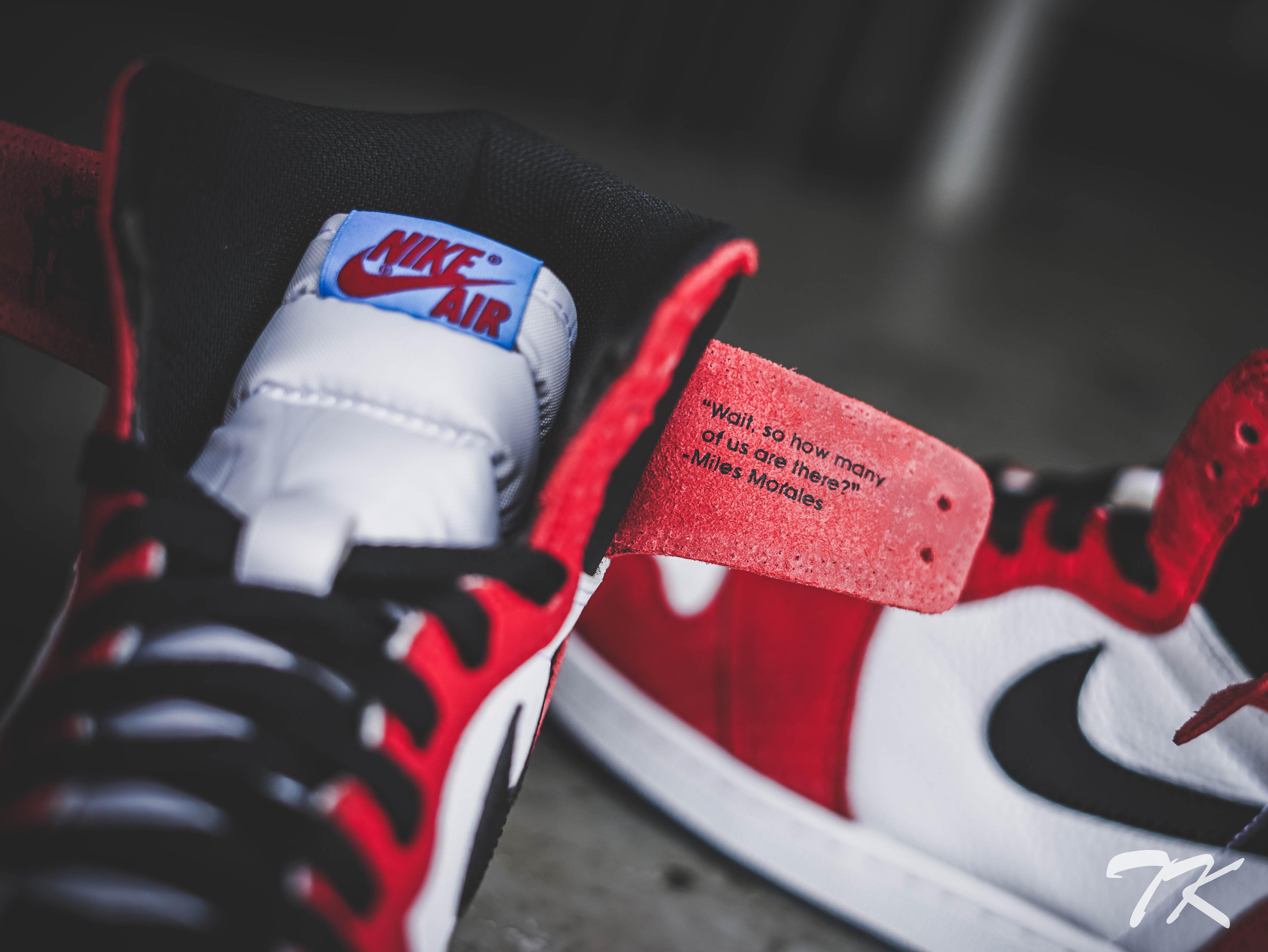 "Nike Air Jordan 1 ""SPIDER-VERSE"""