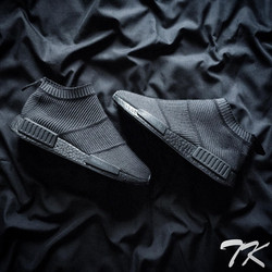 "Adidas NMD City Sock ""BLACKOUT"""