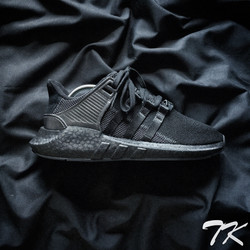 "Adidas Originals EQT ""TRIPLE BLACK"""