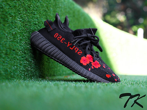 "Adidas Yeezy Boost 350 V2 ""Red Cherry Blossom"" V1"