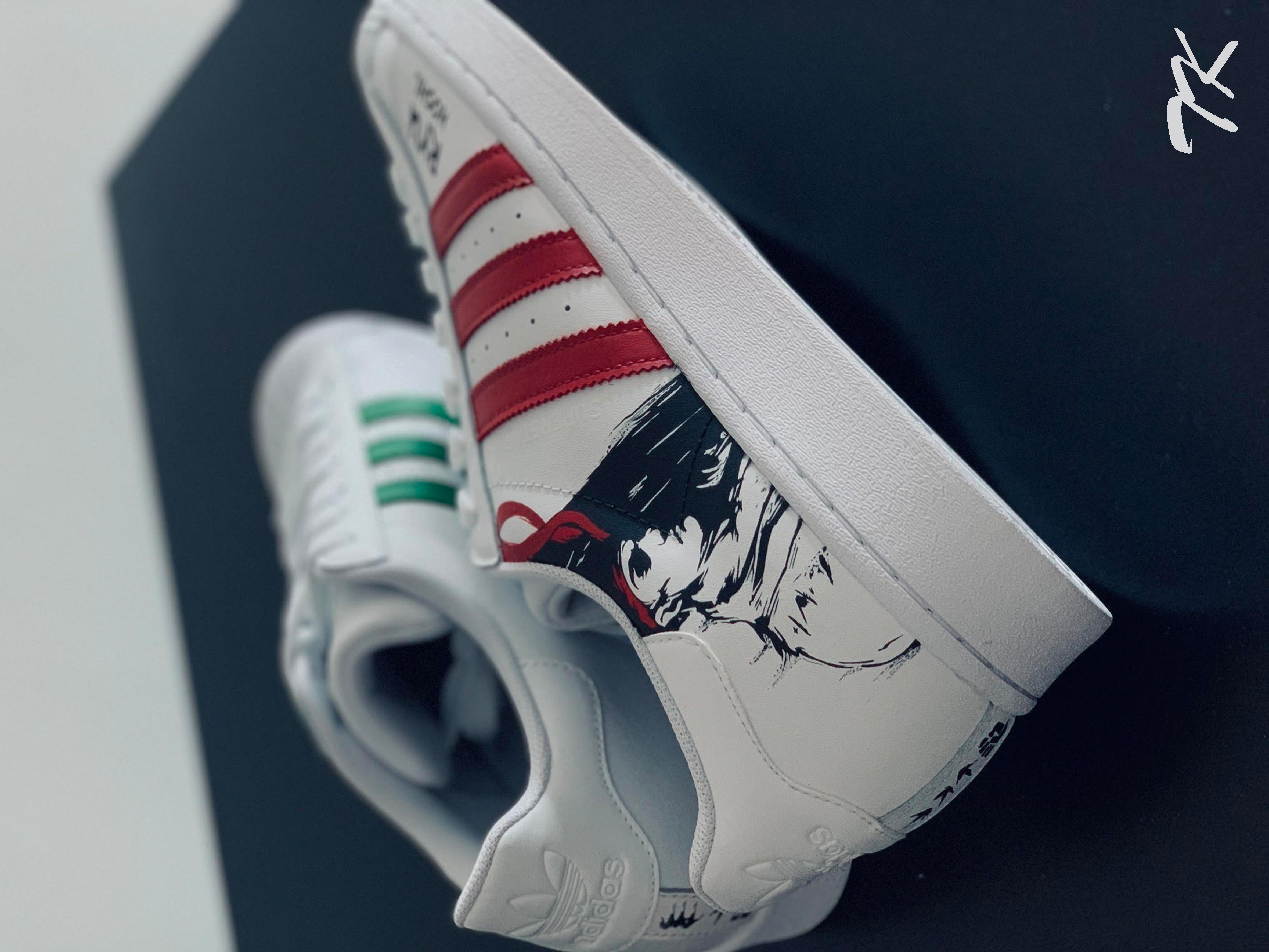 "Adidas Stan Smith ""STREET FIGHTER"""