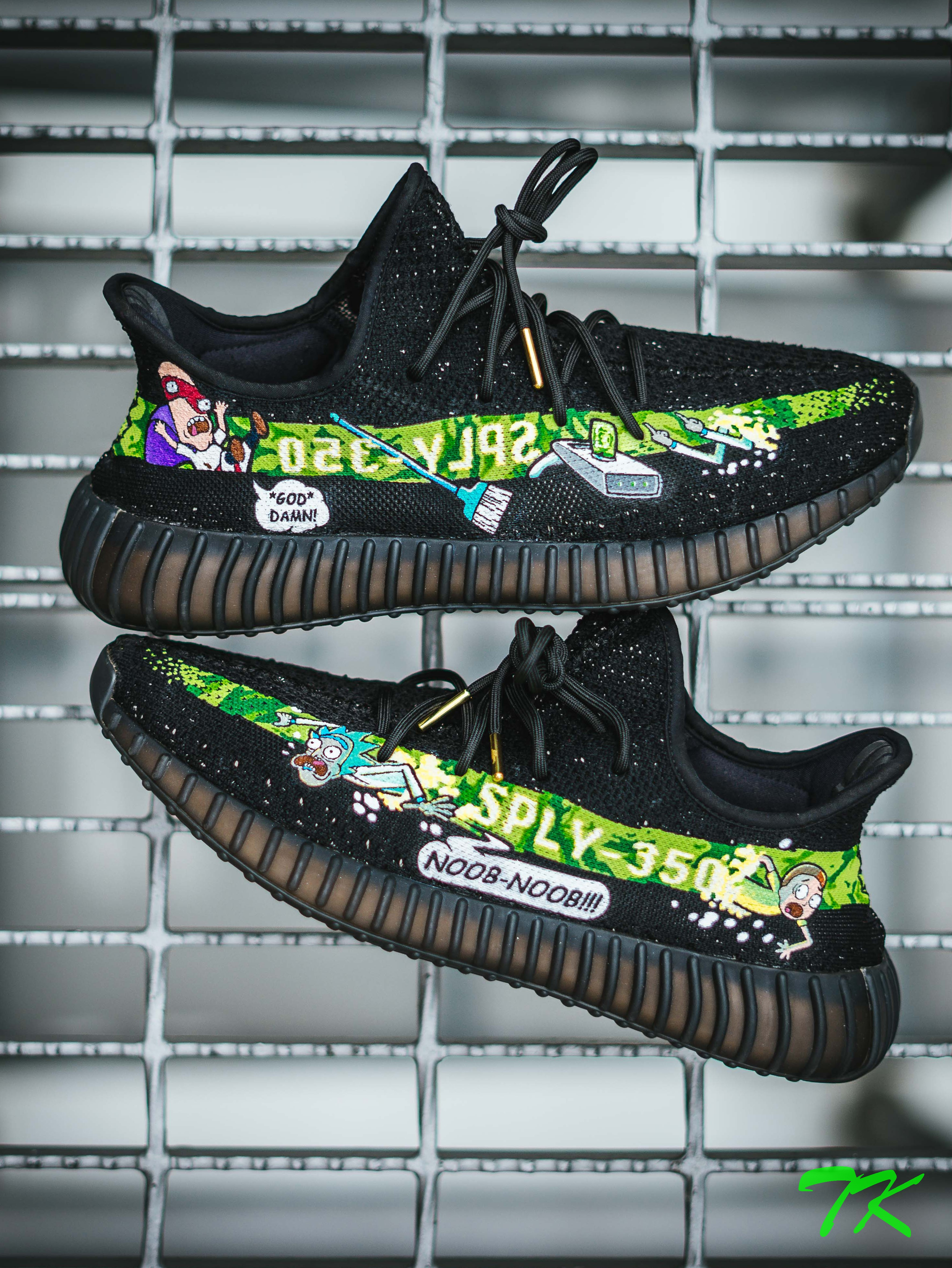"Adidas Yeezy 350 ""RICK & MORTY"""