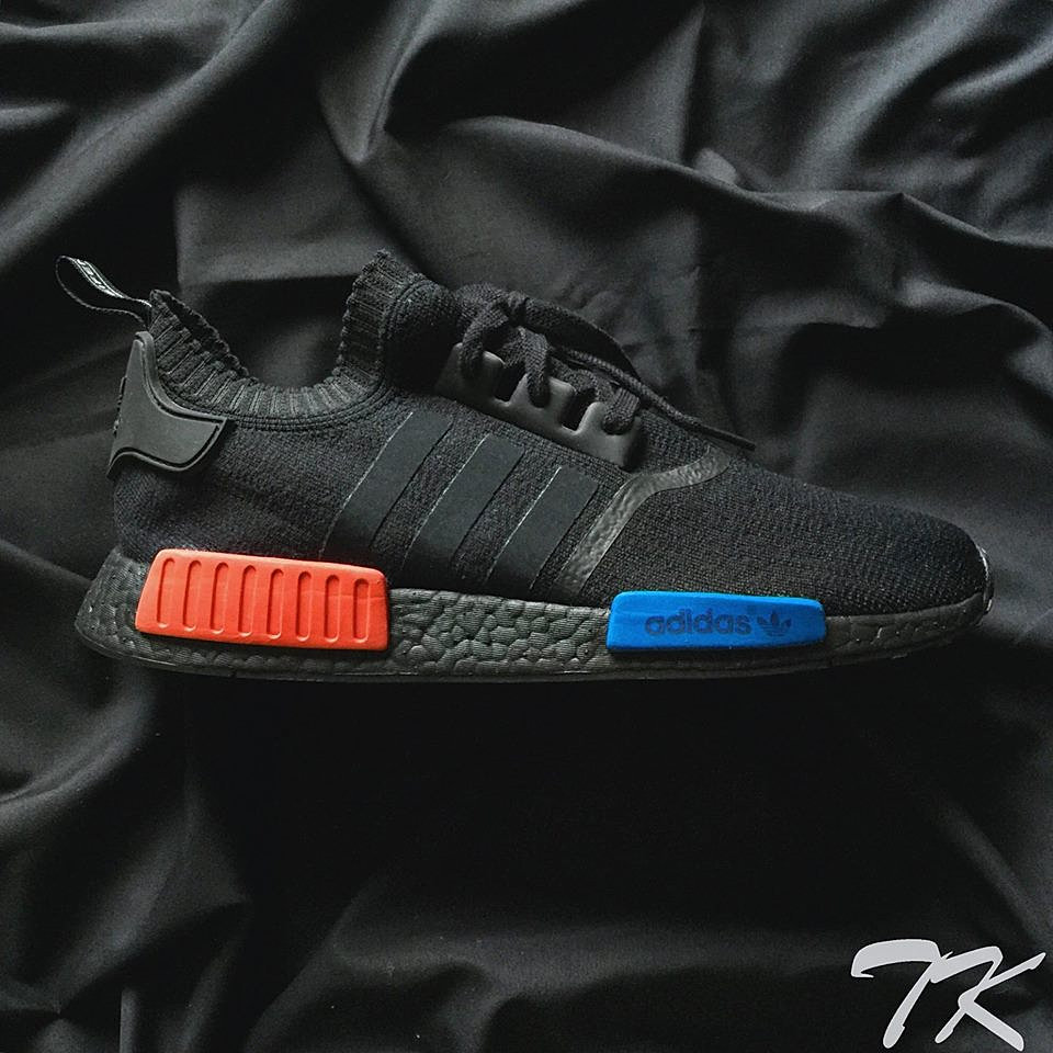[Authentic] Adidas NMD R1 Trail Mystery Red/Raw Pink, Women's