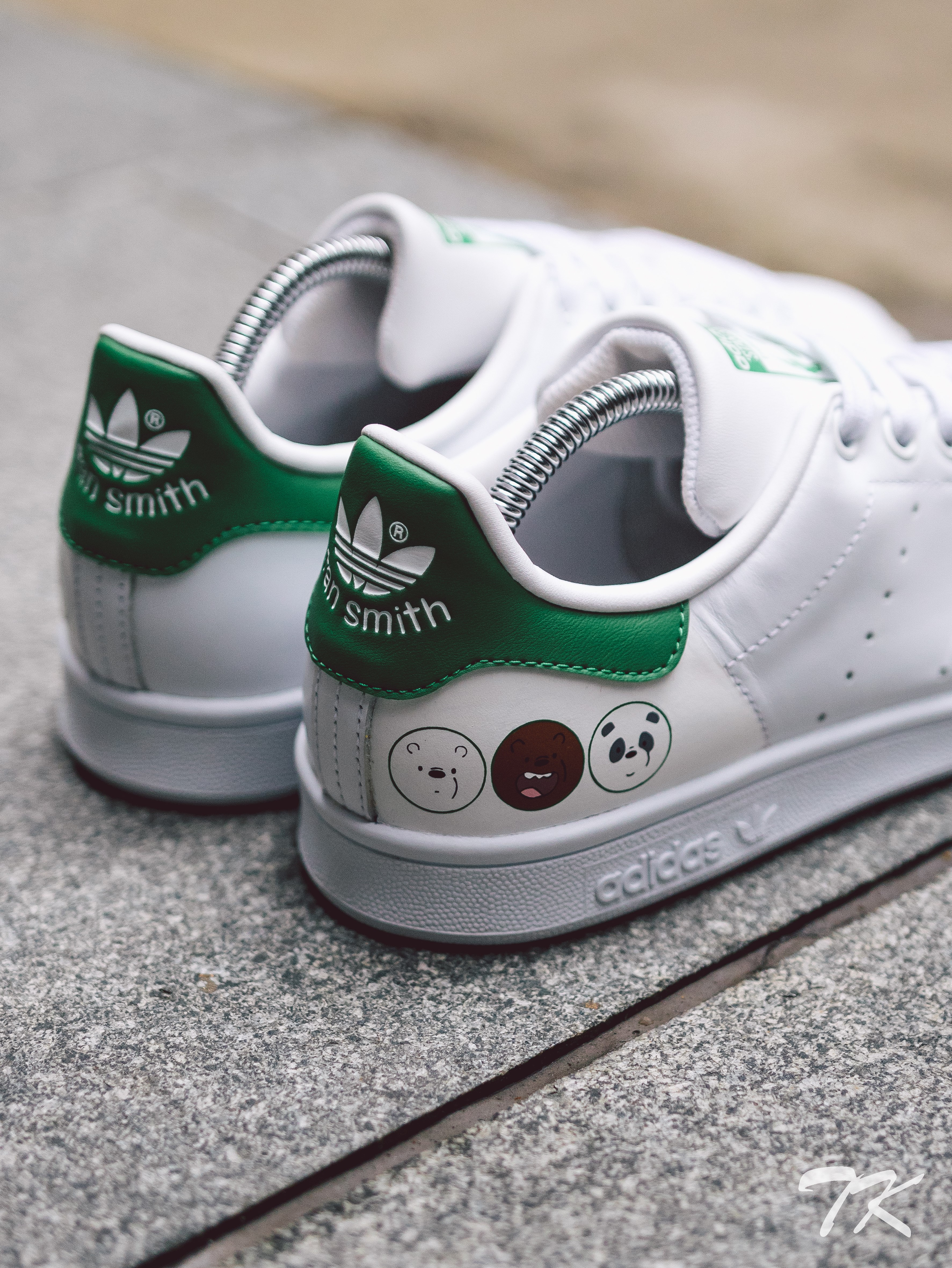 "Adidas Stan Smith ""WE BARE BEARS"""