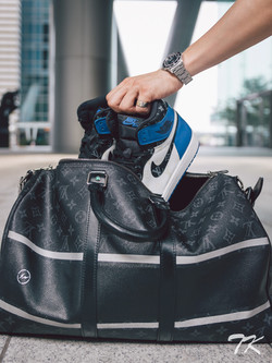 "Nike Air Jordan 1 ""FRAGMENT x LV"""