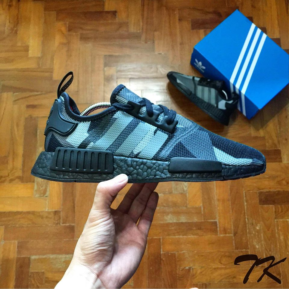 "Adidas NMD _R1 ""BLACKOUT"""