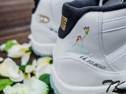 "Nike Air Jordan XI ""WEDDING"""