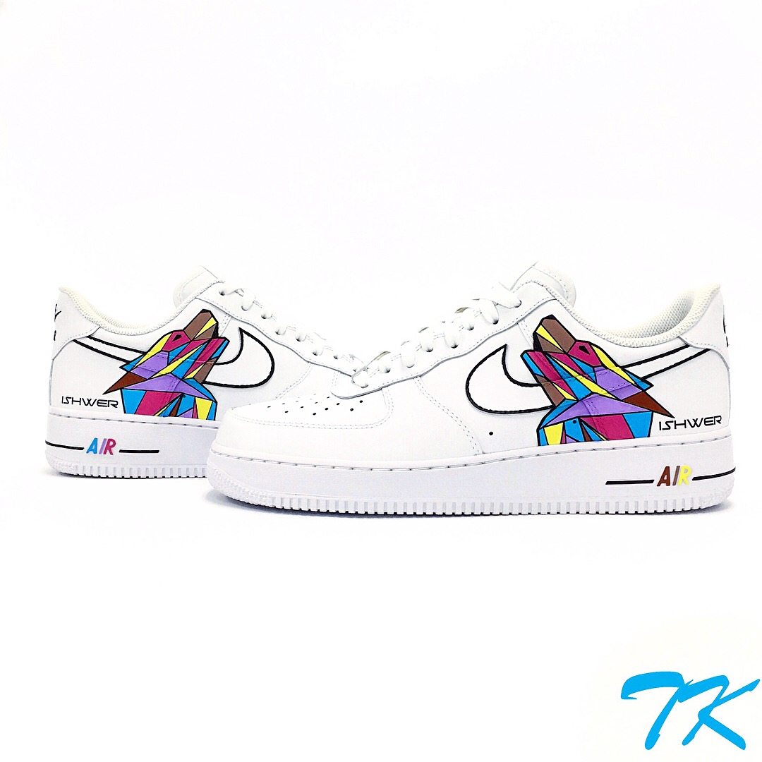 "Nike Air Force 1 ""GEOMETRIC WOLF"""