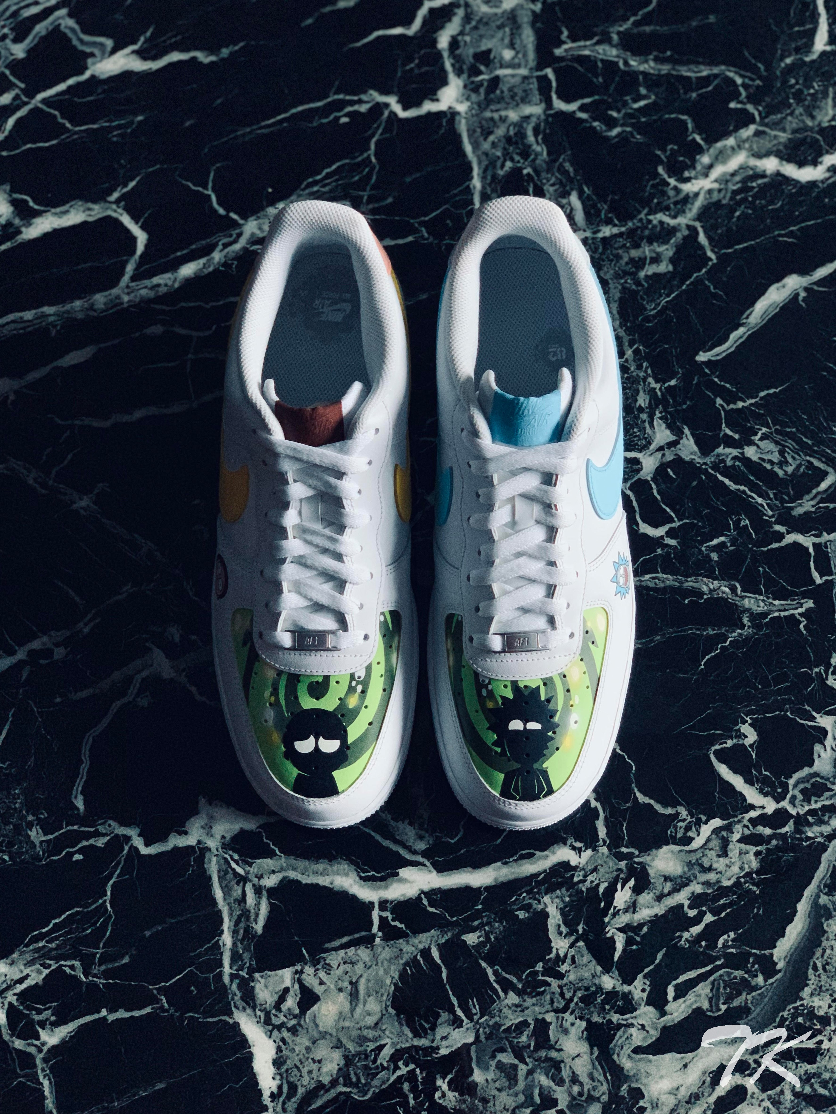 "Nike Air Force 1 ""RICK & MORTY"""