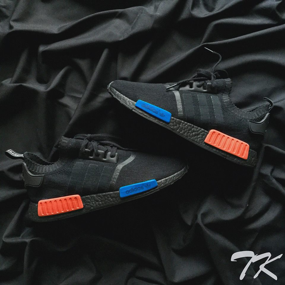 "Adidas NMD OG ""BLACKOUT"""