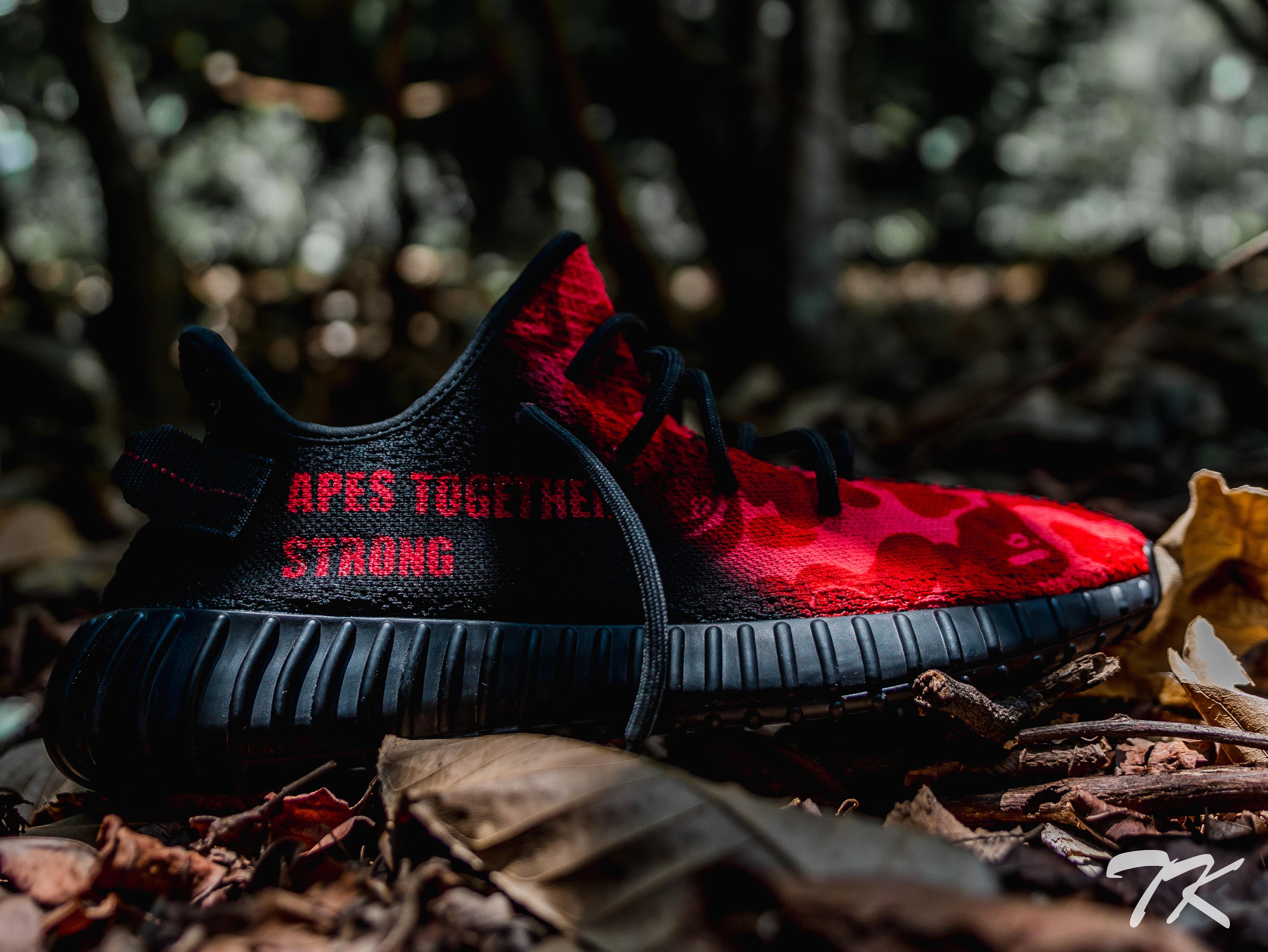 "Adidas Yeezy 350 ""BAPE"""