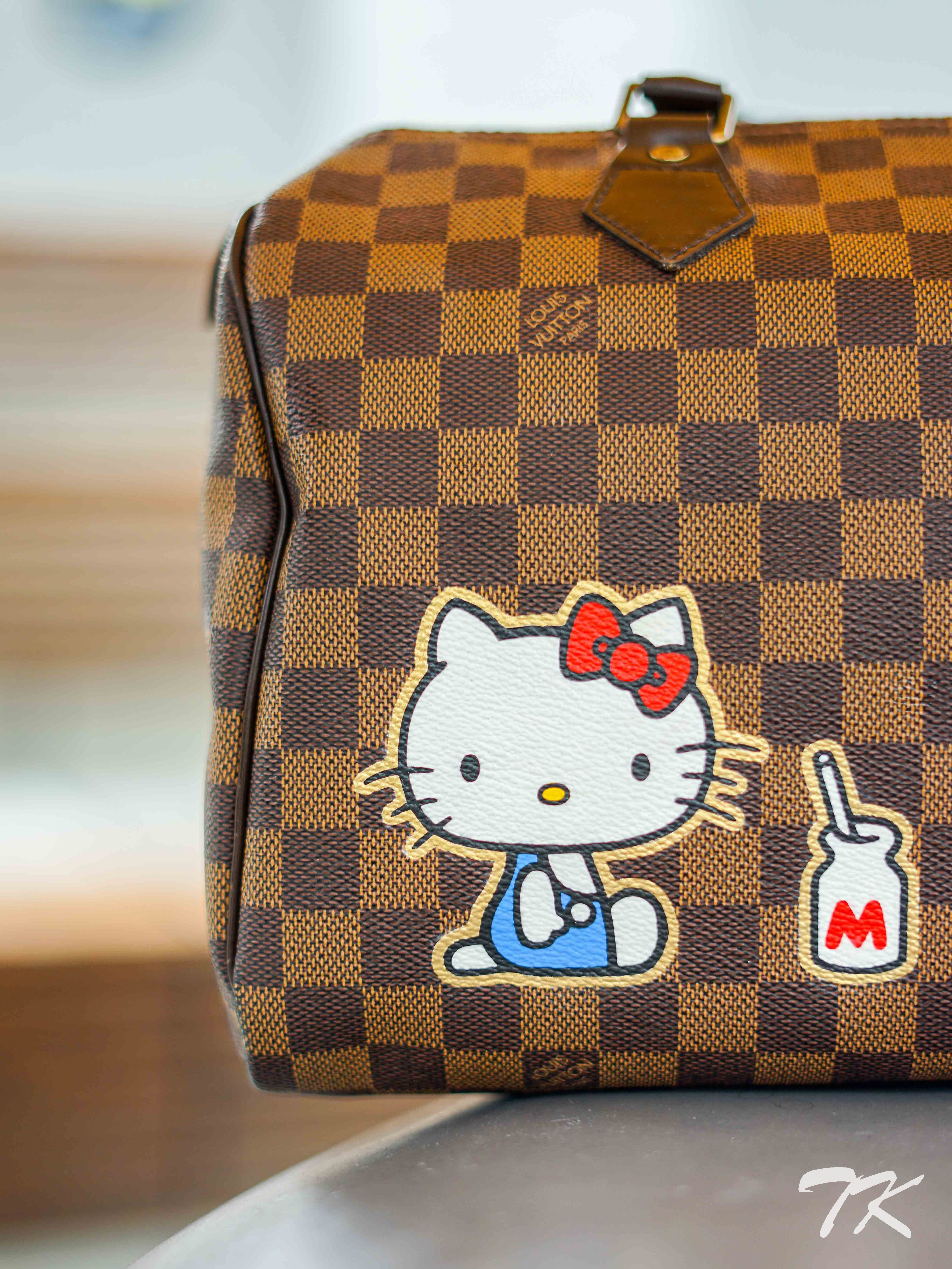 "Louis Vuitton Speedy ""HELLO KITTY"""
