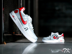 "Nike Air Force 1 ""FOO FIGHTERS"""