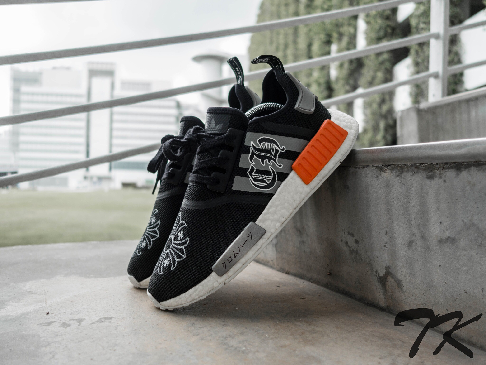 "Adidas NMD R1 ""CHROME HEARTS"""