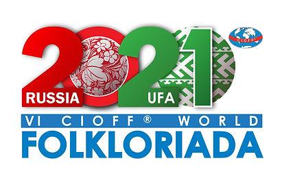 Логотип Фольклориады 2021года