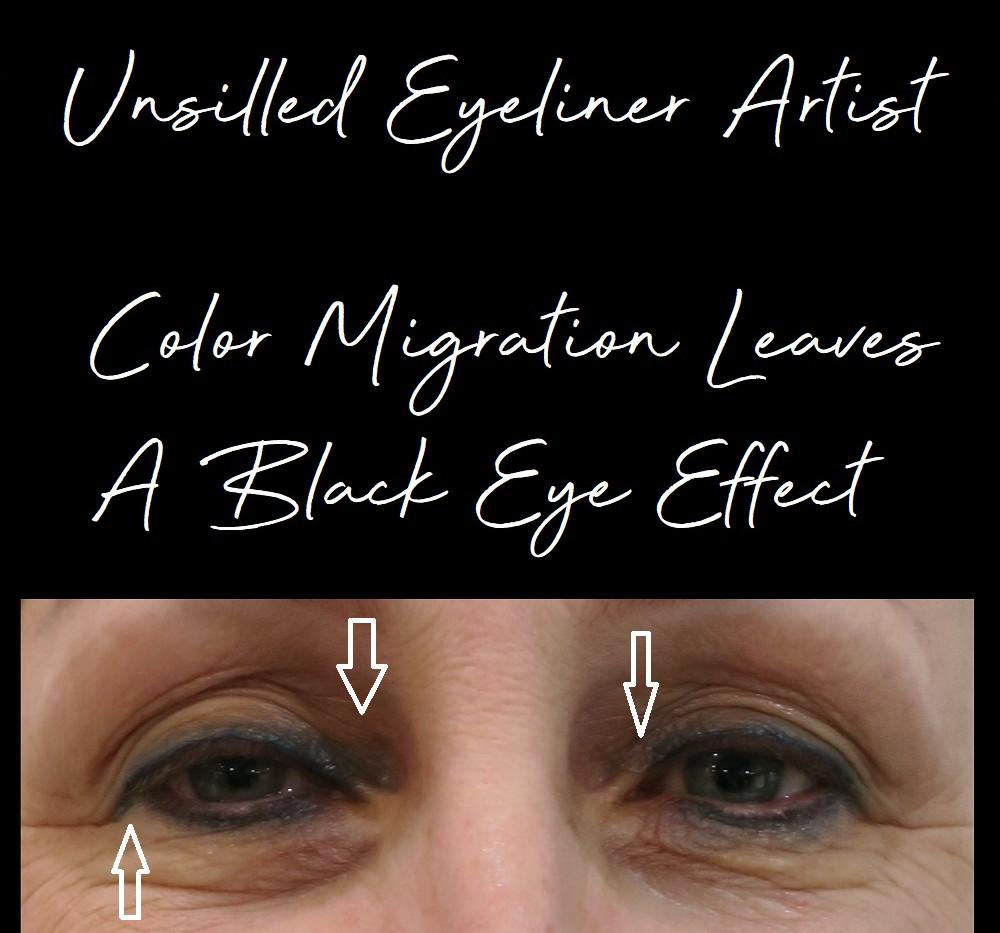 eyeliner tattoo makeup training courses
