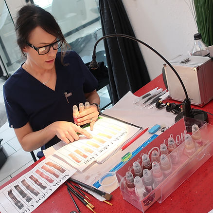 areola and permanent makeup training tac