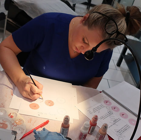 areola and permanent makeup training hou