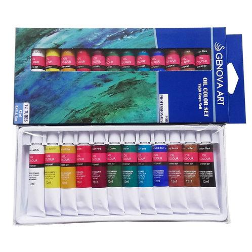 Oil Color 12x12ml