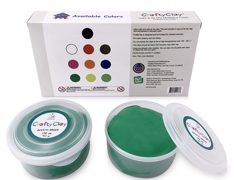 CRAFTYCLAY REFILLS GREEN