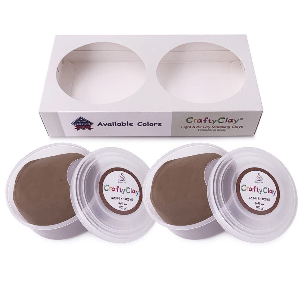 CRAFTYCLAY REFILLS BROWN