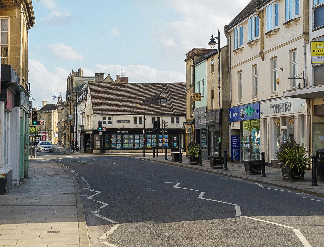 20200522 Melksham High Street